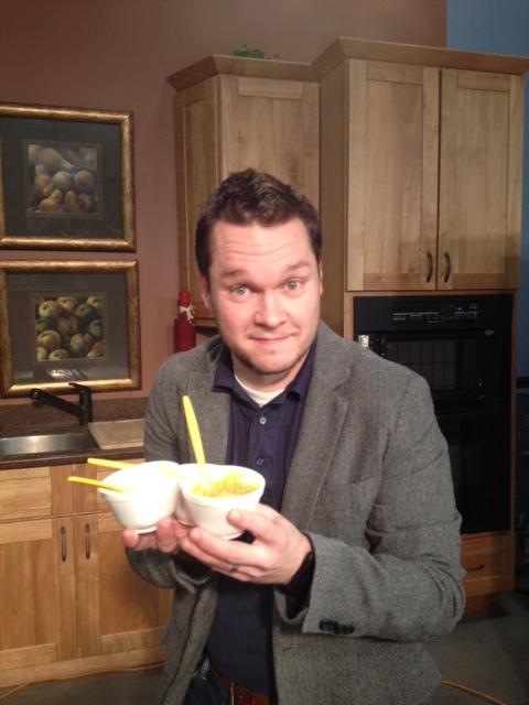 While eating soup, Matt Carlucci founded Buffalo Soup-Fest after his wife pointed out that Buffalo didn't have a soup festival. This Sunday, he expects up to 10,000 people at the 4th annual Soup-Fest.