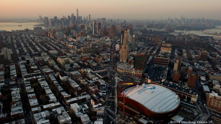 New York City, seen here from the air, is on pace to break an all-time record for property sales, eclipsing a pre-housing crash mark of 5,018 in 2007.