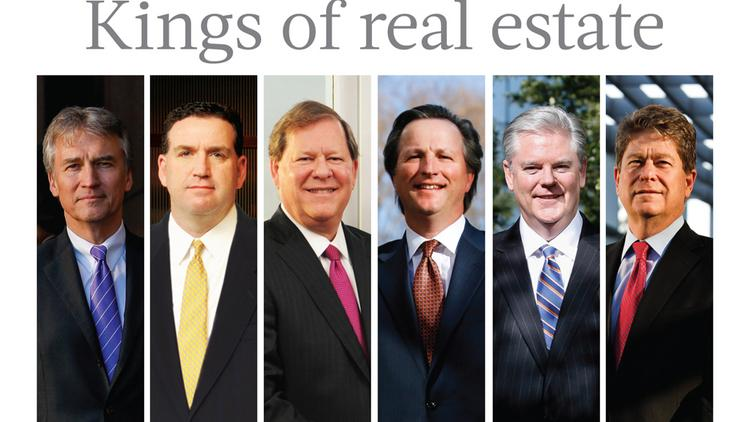 Meet Houston's reigning kings of commercial real estate.  Click through the slideshow to see advice from the six brokers.