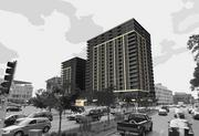 Renderings of the Eclipse, a proposed 20-story condo development in Minneapolis