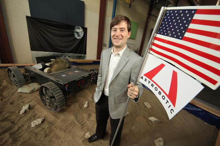 John Thornton, CEO of Astrobotic Technology Inc. in Pittsburgh.
