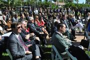 Crowd at the opening of the Gary Player Villa at Trump National Doral