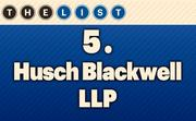 No. 5 Husch Blackwell LLP Local Lawyers: 153  Location: Kansas City For more information, check out the 2014 top law firms available to KCBJ subscribers.