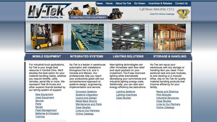 Hy-Tek Material Handling Inc  acquires two Ohio companies