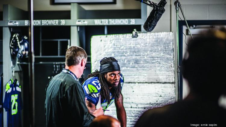 Richard Sherman of the Seattle Seahawks