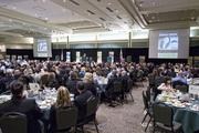 People attend the Sacramento Business Review, an annual economic forecast.