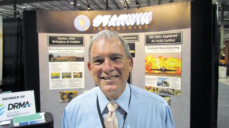 Rick Little is president of Kettering-based Starwin Industries.
