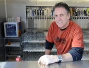 Sean Derfeld is owner of Der Biergarten, which is opening Friday afternoon. It's an outdoor bar at K and 24th streets.