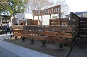 Der Biergarten is at K and 24th streets. The outdoor watering hole will serve 32 draft beers, but not mass-market beer. It also will offer a light menu of traditional German food.