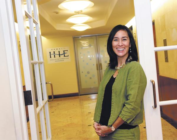 Christine Sakuda, executive director of Hawaii Health Information Exchange.