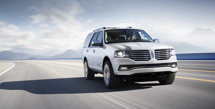 The 2015 Lincoln Navigator is being refreshed and will hit showrooms later this year.