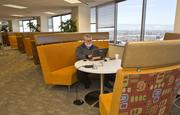 Apigee has put in comfortable co-working stations for employees who want to hang out in a more collaborative space.