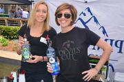 If you were tired of beer, you might have found your way to this booth, which had samples of Hornitos Tequila and Pinnacle Vodka.
