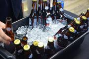 Stone Brewing Company out of Escondido, Calif., had some ice-cold beers available for samples.