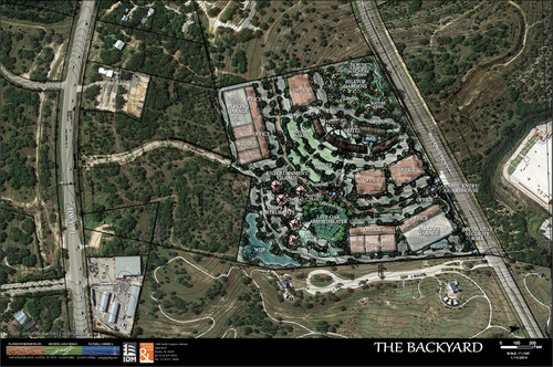 Proposed redevelopment of The Backyard at Bee Cave ...