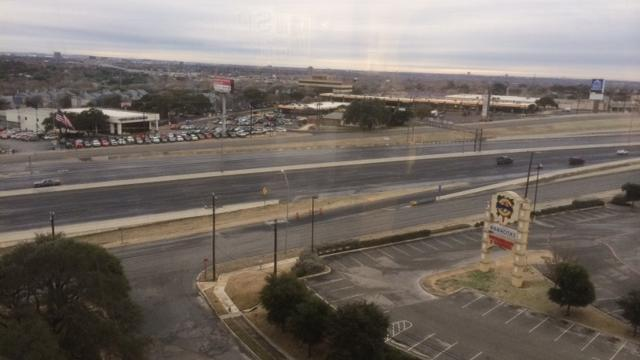 File photo of Interstate Highway 10 near Loop 410, a major freeway intersection in San Antonio. Officials with Associated General Contractors of America say Congress needs a long-term fix to repair or replace the aging highways across America.