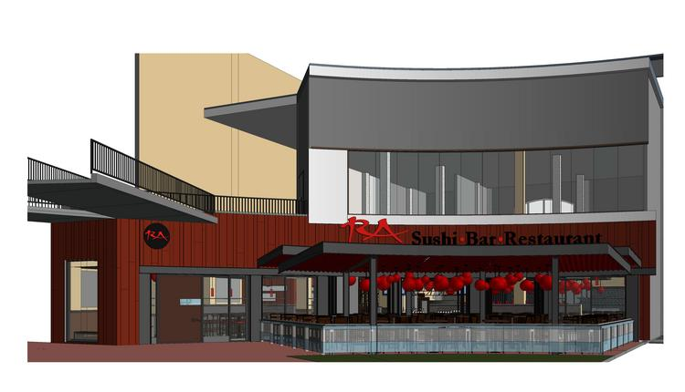 Ra Sushi will open its first Central Florida restaurant and bar in the spring in Pointe Orlando.