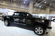 """Stronger, Smarter and more capable,"" the Chevy Silverado was voted the 2014 North American Truck of the Year at the Detroit show, marking a double win for GM."
