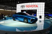 The Toyota FCV Concept car was on display at the 2014 Washington Auto Show.