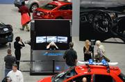 You can test your driving skills, thanks to Mazda Motorsports, at the 2014 Washington Auto Show.