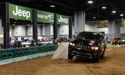 "The Jeep Grand Cherokee had a chance to show off at  ""Camp Jeep,"" the ultimate indoor off-road driving test."