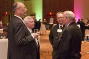 From left are Bill Wilson and Bob Steele of KZF, and Jess Schroeder and Jack Scott of Terracon.