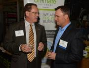 Patrick Curtin of Ernst & Young and Mark Viner of Steven Douglas Associates.