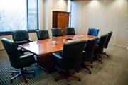 The conference rooms are soundproofed to ensure private consultations.