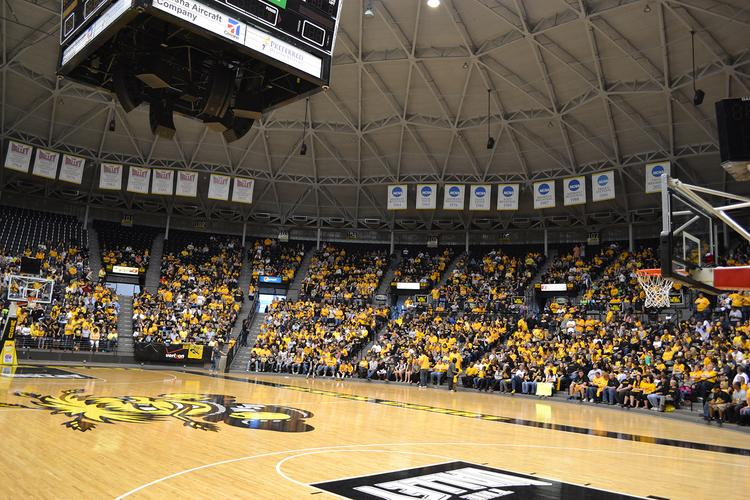 More than 4,000 fans came out to a rally to welcome the Shockers home from the Final Four last year.