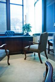 One of the executive suites.