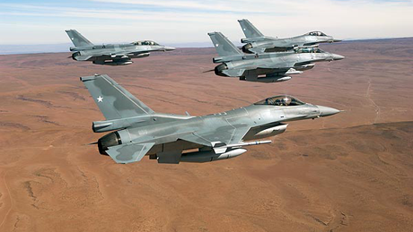 The U.S. Air Force has opted to ground more than half of its F-16D Fighting Falcons after cracks were discovered in a routine inspection.