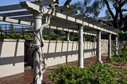 The original pergola, made of stone.