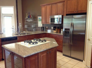 13103 Lester Drive: The kitchen features a walk in pantry.
