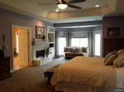 13103 Lester Drive: The master bedroom.