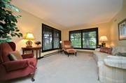 16970 Old Jamestown Road: One of the two-story home's living spaces.