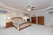 14927 Joseph Meadows: The master bedroom is on the main level.