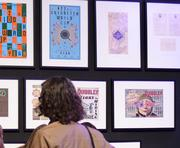 A display of MinaLima's prop reproduction line.