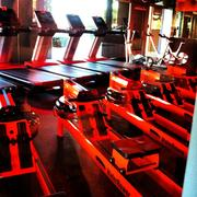Orangetheory Fitness features a 60-minute workout in a class setting that uses equipment such as treadmills, indoor rowing machines and weights.