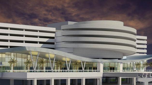 Rendering of the East Terminal after