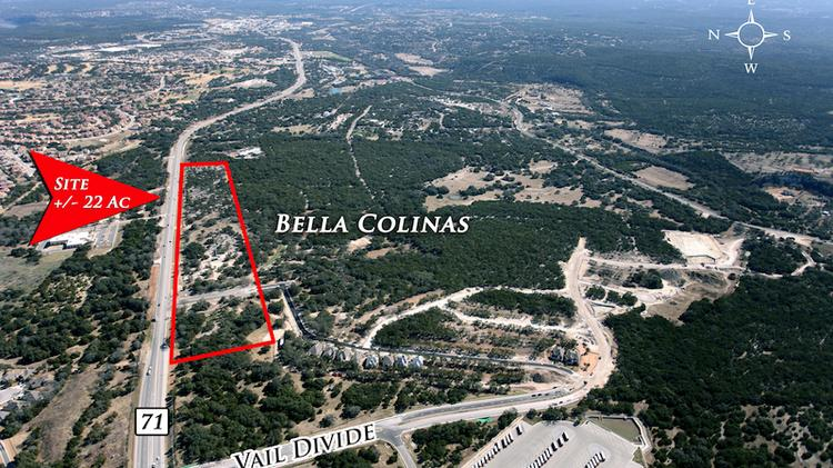 Houston-based Rockspring Capital recently acquired frontage property along Texas Highway 71, about two miles west of the Hill Country Galleria in western Travis County.