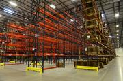 A view of the distribution center shows there's still room to grow.