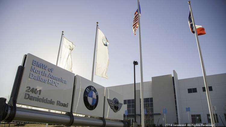 BMW's $50 million regional parts distribution center in Lancaster officially opened Monday, and will serve the surrounding southern region of the United States. (Courtesy: Todd Stricker/Newscast Creative)
