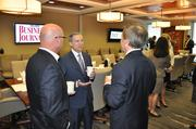 Steve Riviere of Centennial Bank, Ed Snow with Burr & Forman LLP and Joe Rusnick of TD Bank