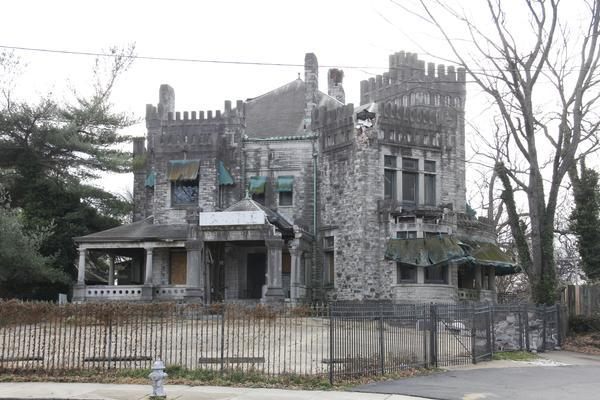 """Ashlar Hall on Central Avenue is a 117-year-old castle that has fallen into disrepair under the ownership of eccentric Robert """"Prince Mongo"""" Hodges."""