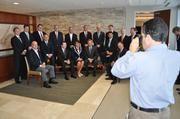 Orlando Business Journal photographer Jim Carchidi get a snapshot of all the attendees at the Banking & Finance Industry Roundtable.