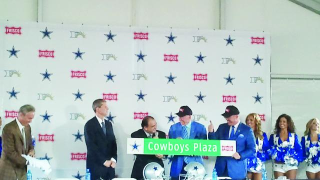 The Dallas Cowboys announced the team would move its headquarters and practice facility to Frisco from Irving in 2013.