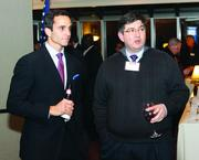 James Hall, left, and Daniel Garcia of Bowman Consulting.