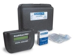 Akers Biosciences's Breathscan Pro, a disposable breath alcohol detector