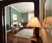 The presidential mansion's sitting room.