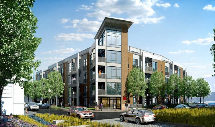 The 109-unit condominium building planned for Parcel 11 at the Wharf on D.C.'s Southwest Waterfront.